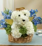 Dog In Heaven Pet Sympathy Flowers