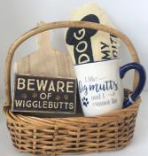 Dog Lover Basket Gift Basket
