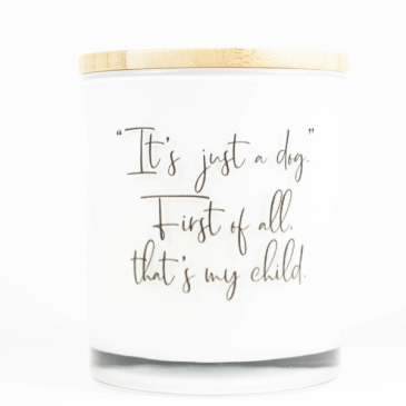 Dog Lover Candle