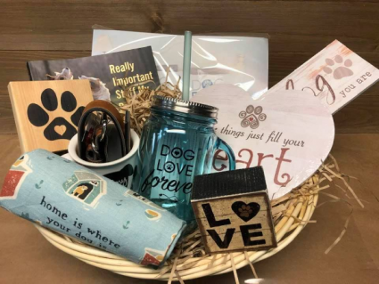 With love, from The Dog Gift Basket