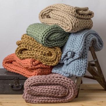 Donna Sharp Chenille & Knit Blankets Gift Items