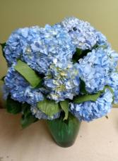 The Big Blue Whale Vase Arrangement