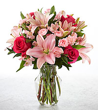 DON'T MAKE ME BLUSH Vase Arrangement