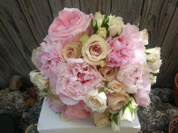 Don't Make Me Blush Wedding Bouquet