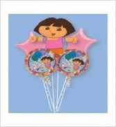 Dora the Explorer Ballloon Bouquet ***SPECIAL PRICE***