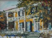 Dorr House Original Oil by Nina Fritz