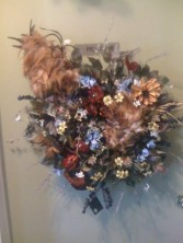 Dos Cockerels Wreath By Perrine Custom Silks