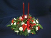 Double Candle Centerpiece centerpiece