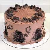 Double Chocolate Cake Sweet Blossoms