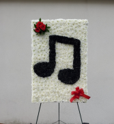 Double Clef Music Note Custon Spympathy