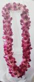 Double Dendribium Orchid  Lei