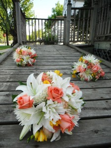 Double Lily Wedding Wedding