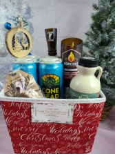 Emslie's Double Play gift basket