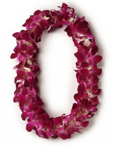 double purple lei lei