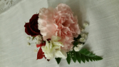 Double Size Carnation Rose Boutonniere