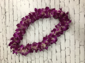 Double stranded orchid bombay Lei