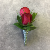 Double Trouble - Red Boutonniere