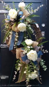 Double Wreath Permanent Botanicals