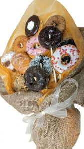 Doughnut Bouquet   Edible Arrangement in Barre, VT | Forget Me Not Flowers and Gifts LLC