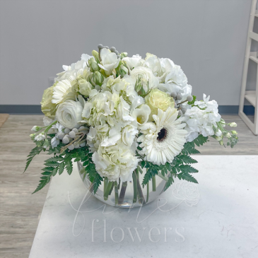 Dove Vase Arrangement