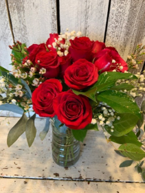 Doz. Red Roses  any color combo same price