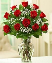Doz Red Roses  in Universal City, TX   Karen's House Of Flowers & Custom Creations
