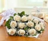 Doz. White Roses Presentation *Margot's Area Only*