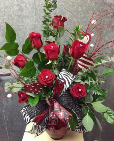 Dozen Bling Roses Dozen Roses
