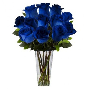 DOZEN BLUE ROSES  in Camp Pendleton, CA | CAMP PENDLETON FLORIST