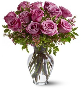 Dozen Lavender Roses #WS-01 in Hesperia, CA | ACACIA'S COUNTRY FLORIST