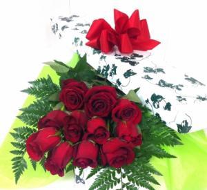 Dozen long stem red roses  in Brampton, ON | BRAMPTON FLOWER SHOP INC.