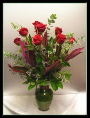 Dozen Long Stem Roses  in Houston, TX | Rose Gallery Florist