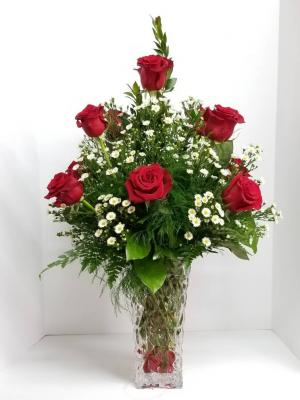 Dozen of Red Roses   in Liberal, KS | THE FLOWER BASKET