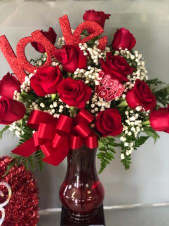 Dozen of Roses Valentine's Day