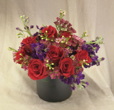 DOZEN PLUS! Charming Vased Arrangement, Compact