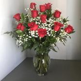 Dozen Red Roses   in Woburn, Massachusetts | HILLSIDE FLORIST INC.
