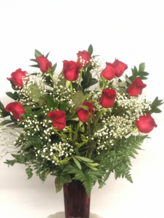 Dozen red roses   LOCAL DELIVERY ONLY