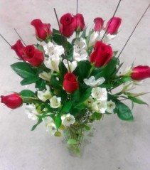 Dozen red roses, MO-14 Fresh floral