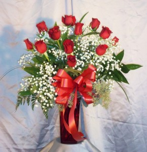 Red Roses to Send Your Love Most Popular Red Rose Design, 12, 18, or 24 Roses in Gainesville, FL | PRANGE'S FLORIST
