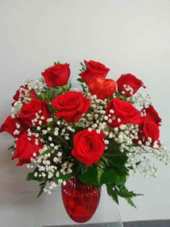 DOZEN RED ROSES  ROSES