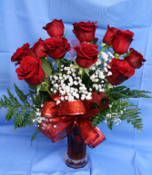Dozen Red Roses Valentine's Day