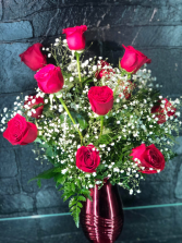 Dozen Red Roses Valentines Day