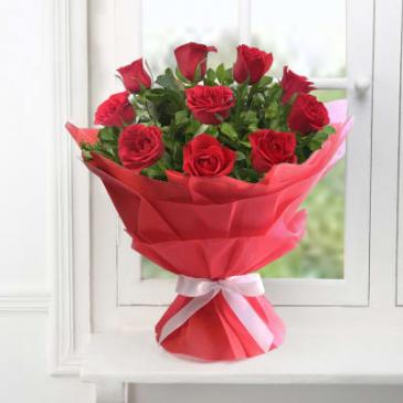 Dozen Red Roses  Dozen Red Roses NO Vase