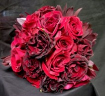 Dozen Rose Bouquet  Bridal Bouquet