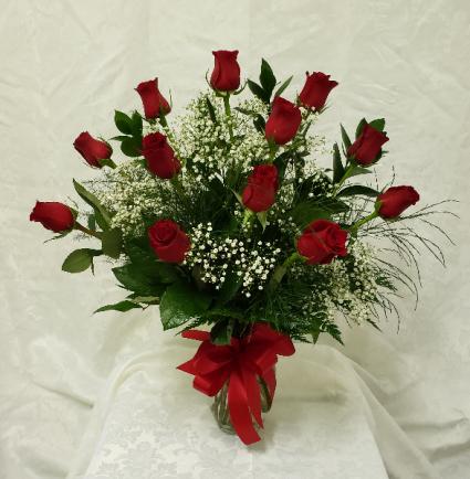 Dozen Rose Special Roses Arranged