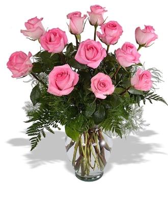 Dozen Rose Vase Fresh Vase
