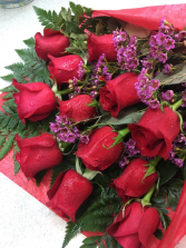 Dozen Rose Wrap