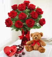 Dozen Roses and Gifts Rose