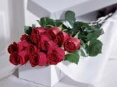 Dozen Roses- Boxed