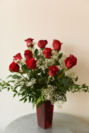 Dozen Red Roses  in La Grande, OR | FITZGERALD FLOWERS